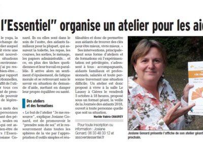 Article D. Libéré Atelier CCAS Meylan  oct 2018